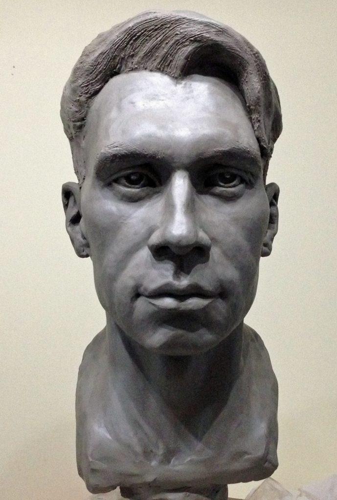 Glenn by Frances Clark Sculpture