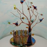 Tree Sculpture by Louise Nelson Glassdaft