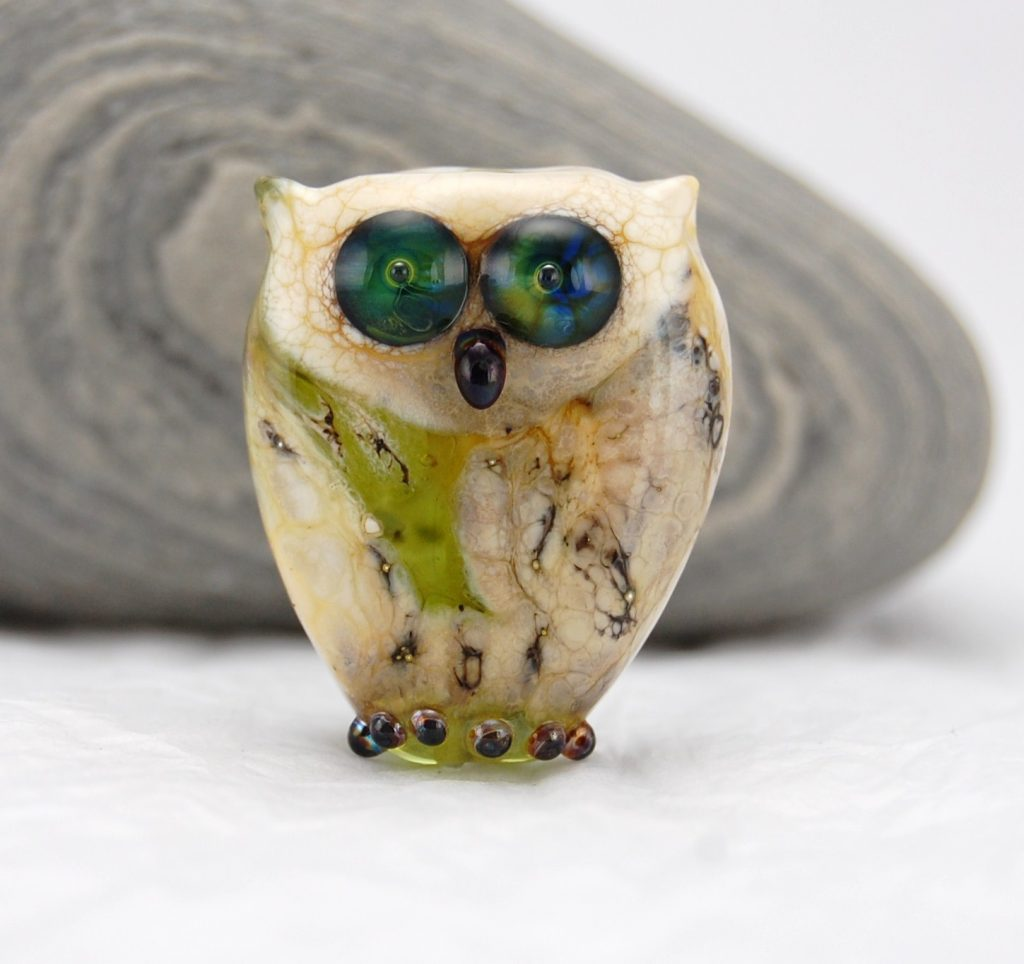 Owl by Louise Nelson Glassdaft