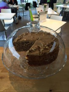 Barony Cafe Chocolate Cake