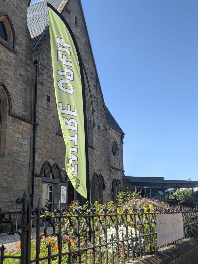 Barony Centre Flag