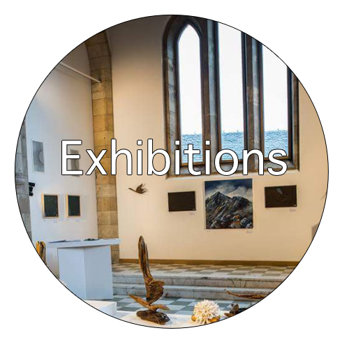 Exhibitions at the Barony Centre