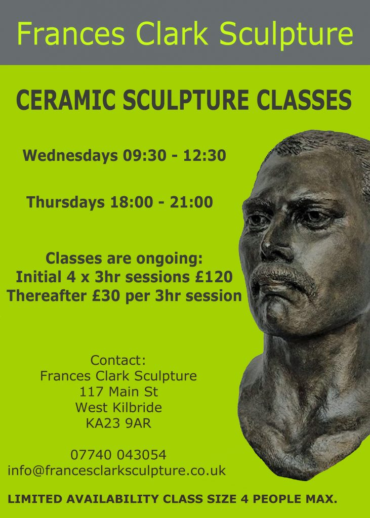 Frances Clark sculpture classes